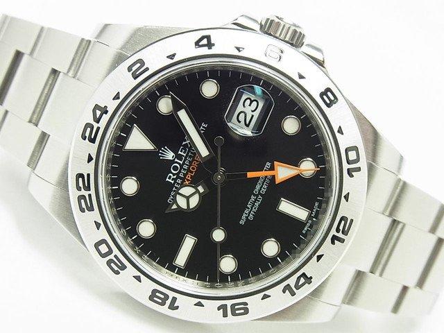 ロレックス エクスプローラーII 216570 ブラック '13年 正規品