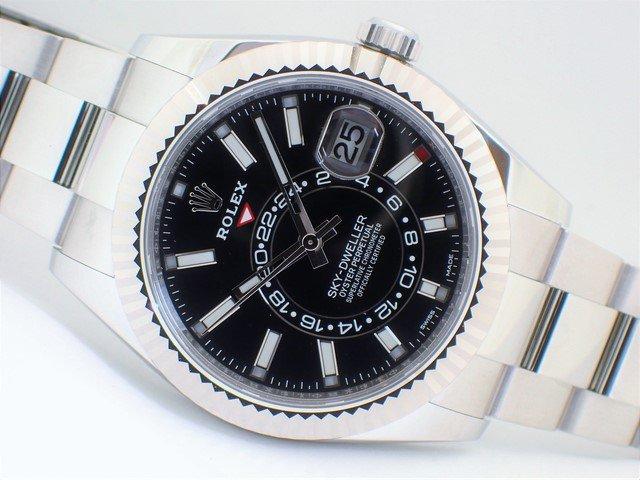 lowest price 757c1 b7811 ロレックス スカイドゥエラー WGベゼル ブラック Ref.326934 未使用品 - 腕時計専門店THE-TICKEN(ティッケン)  オンラインショップ