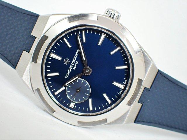 ヴァシュロン・C オーヴァーシーズ・オートマチック 37MM ブルー 正規品