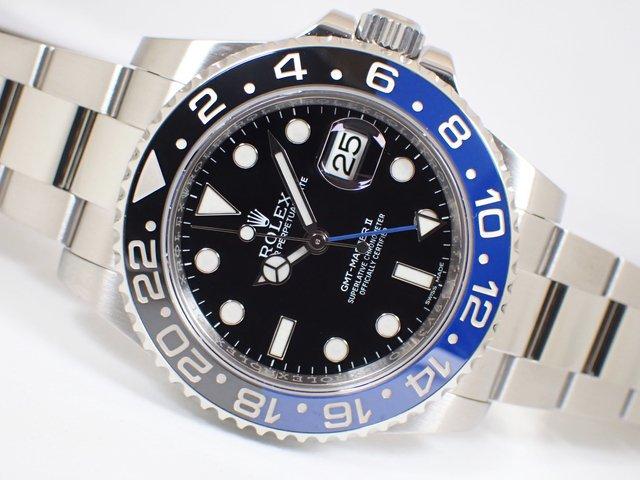 ロレックス GMTマスターII 青黒ベゼル 116710BLNR