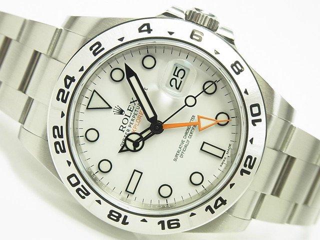 ロレックス エクスプローラーII 216570 ホワイト '17年購入 正規品