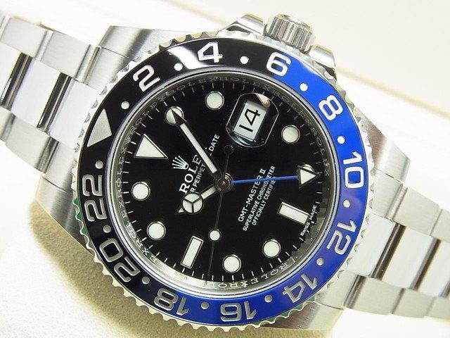 best cheap 7e150 f7ff2 ロレックス GMTマスターII 青黒ベゼル Ref.116710BLNR '18年購入 - 腕時計専門店THE-TICKEN(ティッケン)  オンラインショップ