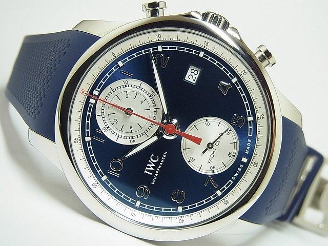 IWC ポルトギーゼ・ヨットクラブ ブルー IW390507 国内正規品
