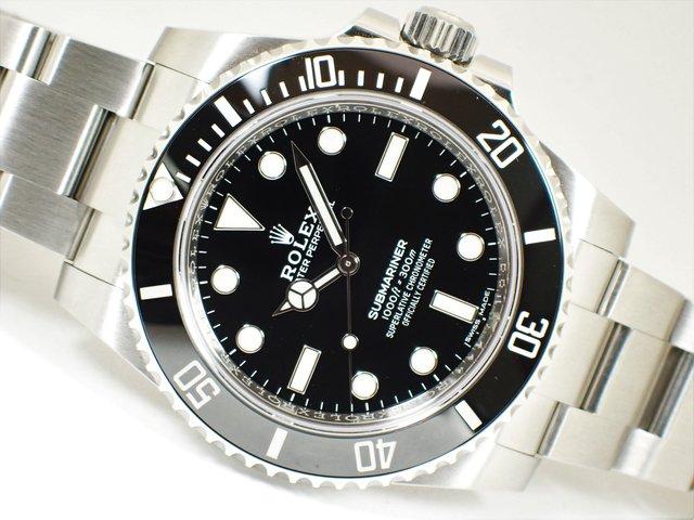 buy popular 96e10 2db16 ロレックス サブマリーナ・ノンデイト 114060 正規品 - 腕時計専門店THE-TICKEN(ティッケン) オンラインショップ