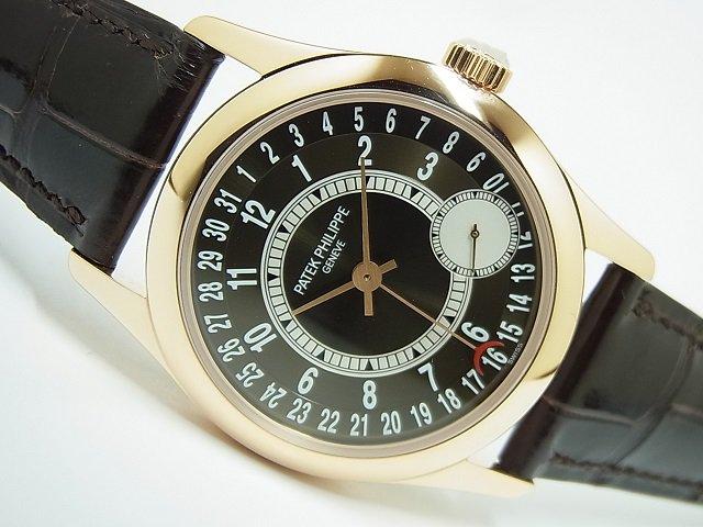 パテック・フィリップ カラトラバ 18KRG ブラウン 6000R-001
