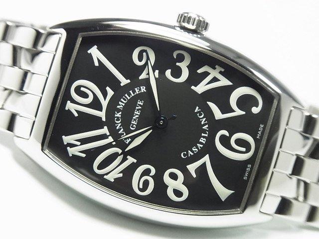 フランク・ミュラー カサブランカ ブラック ブレス 6850 正規品