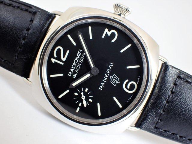 パネライ ラジオミール・ブラックシール ロゴ PAM00380 T番 正規品