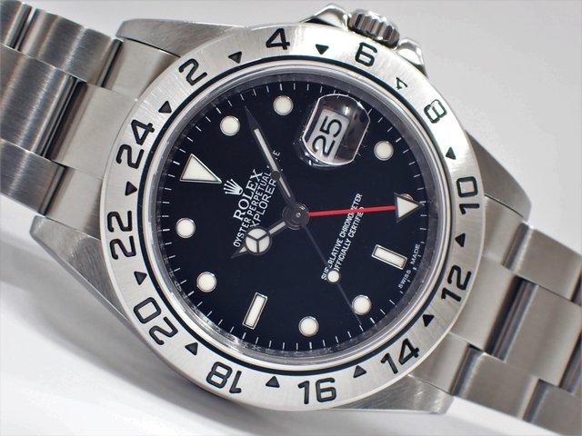 ロレックス エクスプローラーII ブラック Ref.16570 ランダム