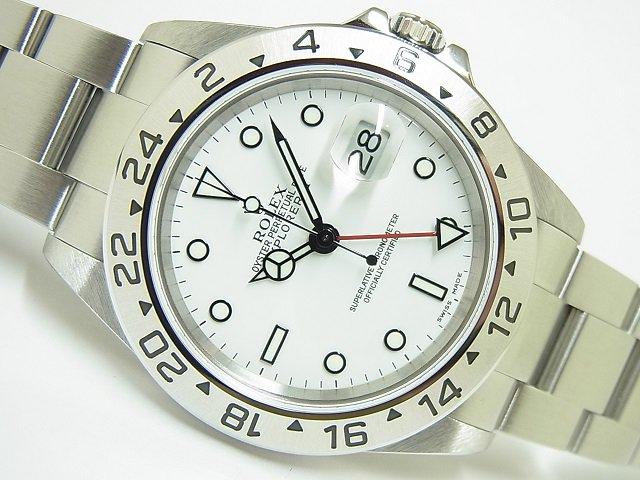 ロレックス エクスプローラーII ホワイト 16570 Y番