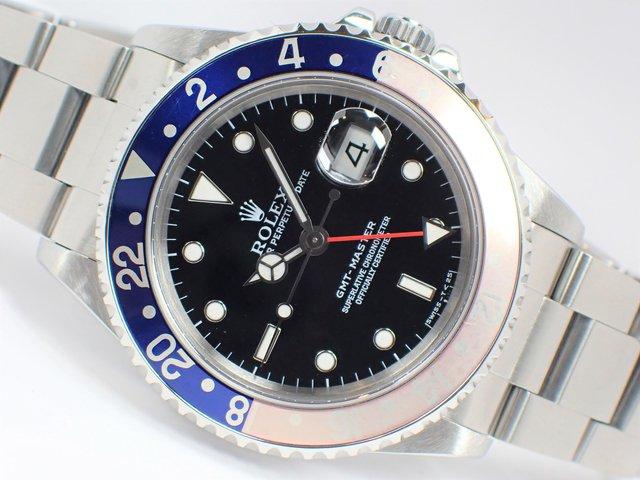 ロレックス GMTマスターI 16700 赤青ベゼル T番