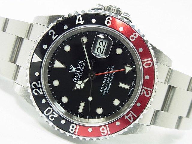 ロレックス GMTマスターII Ref.16710 赤黒ベゼル P番
