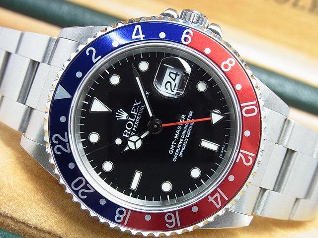 ロレックス GMTマスターI 赤青ベゼル Ref.16700 最終A番