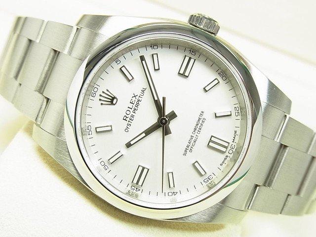 ロレックス オイスターパーペチュアル36 ホワイトバー Ref.116000