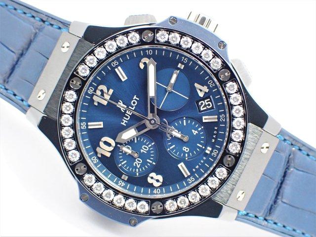 ウブロ ビッグ・バン セラミック ブルー ダイヤモンド 41mm