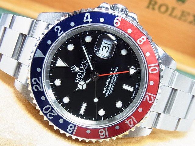 ロレックス GMTマスターII 赤青ベゼル Ref.16710 P番