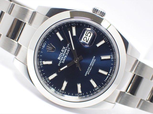 ロレックス デイトジャスト41 ブルーバー Ref.126300