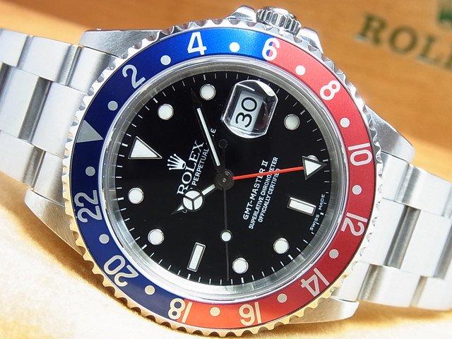 ロレックス GMTマスターII 赤青ベゼル Ref.16710 A番
