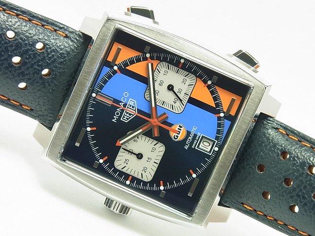 タグ・ホイヤー モナコ キャリバー11 Gulf スペシャルエディション CAW211R.FC6401