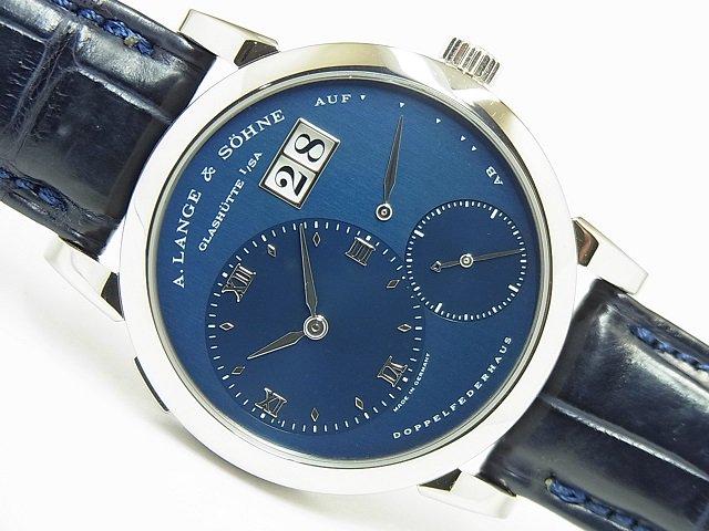 ランゲ&ゾーネ ランゲ1 18KWG 101.027 ブルー
