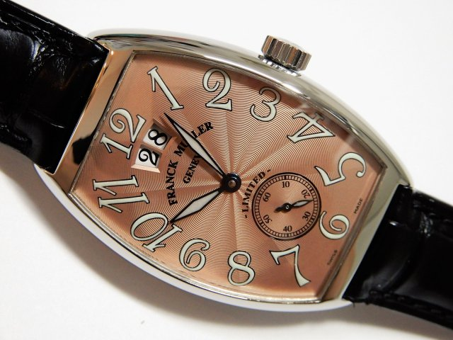 フランク・ミュラー トノーカーベックス リミテッド 2000 カッパーギョーシェ Ref.2851 S6 LIMITED 2000