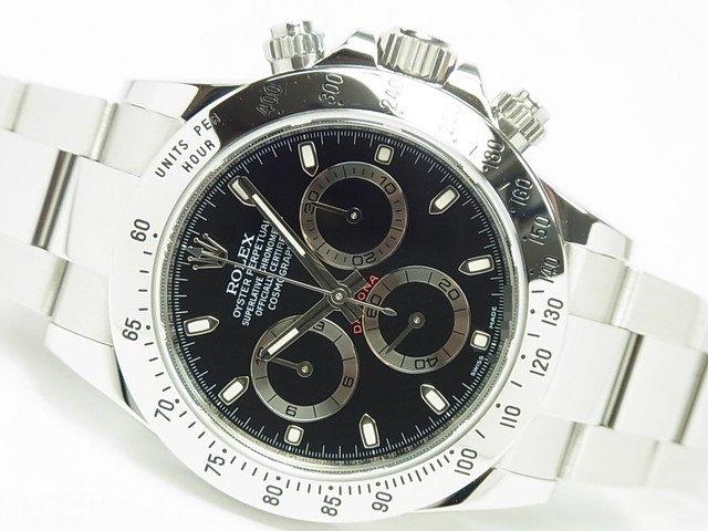 ロレックス デイトナ SS ブラック Ref.116520 G番 正規品