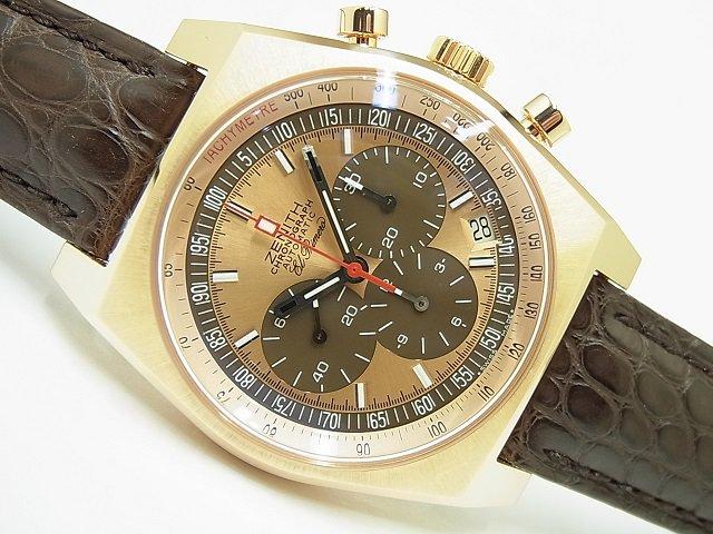 ゼニス ニューヴィンテージ1969・オリジナル 18KPG 18.1969.469/71.C504 250本限定