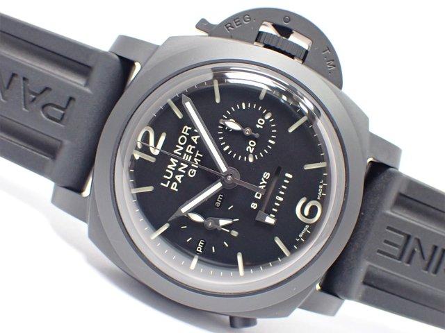 パネライ ルミノール1950 8デイズ GMTクロノグラフ モノプルサンテ PAM00317 44MM