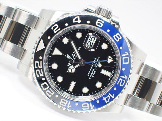 ロレックス GMTマスターII 青黒ベゼル Ref.116710BLNR