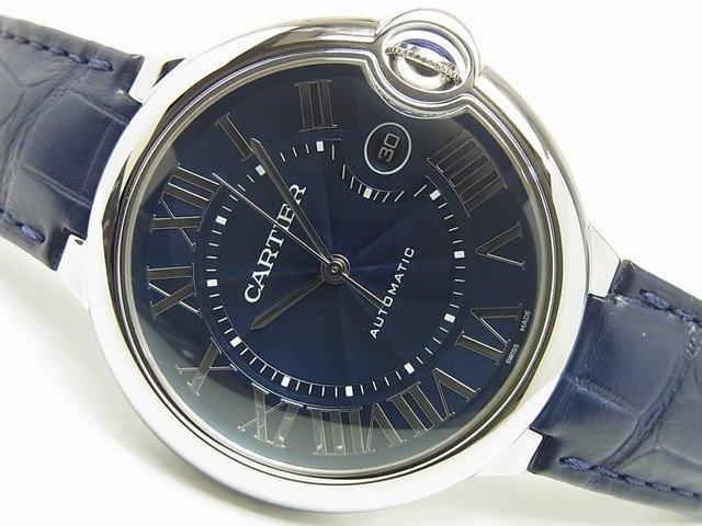 カルティエ WSBB0025 バロン ブルー ドゥ カルティエ 42MM ブルー文字盤