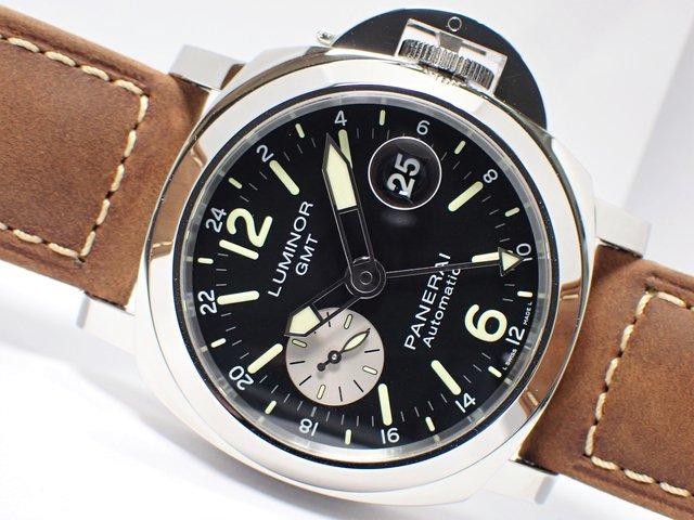 パネライ ルミノール GMT オートマティック アッチャイオ 44MM PAM01088