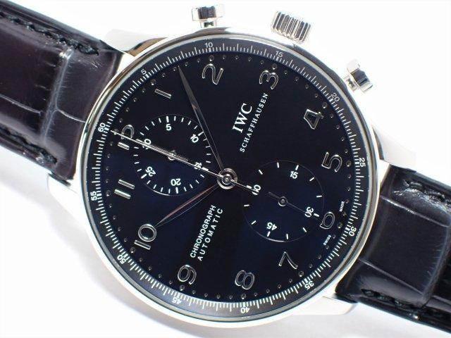 IWC ポルトギーゼ クロノグラフ ブラック IW371438 正規品