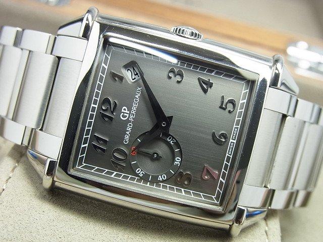 ジラール・ペルゴ ヴィンテージ1945 グレー SS Ref.25835 正規品