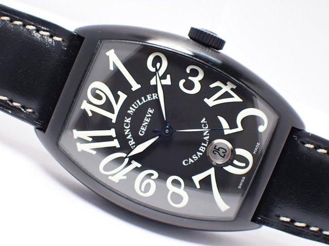 フランクミュラー カサブランカ ブラックPVD 6850CASA 正規品