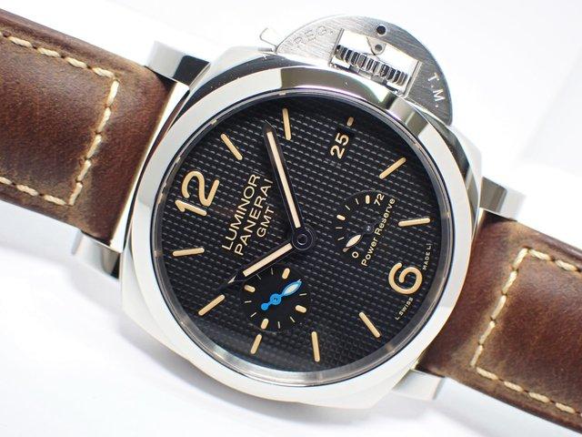 パネライ ルミノール1950 3デイズ GMT パワーリザーブ オートマティック 42MM