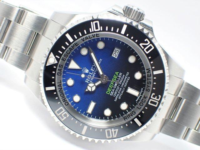 ロレックス ディープシー・Dブルー Ref.116660 正規品