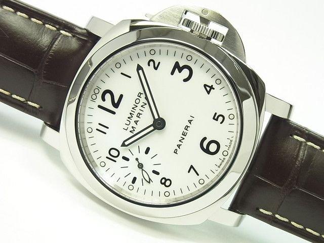 ルミノール・マリーナ 44MM ホワイト文字盤 PAM00113 正規品