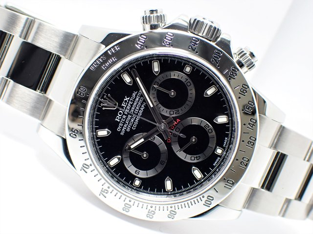 ロレックス デイトナ ブラック 116520 ランダム '14年 正規品