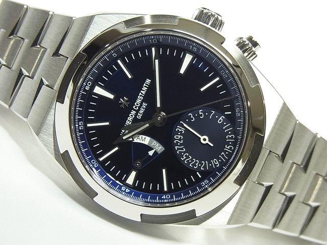 ヴァシュロン・C オーヴァーシーズ・デュアルタイム ブルー 7900V/110A-B334