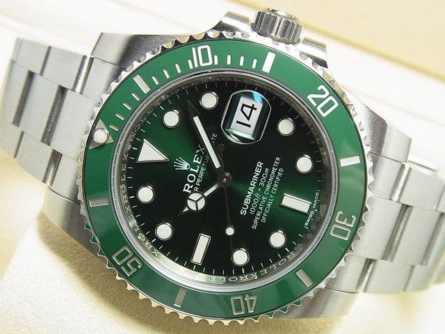 ロレックス グリーンサブ Ref.116610LV '18年購入 正規品