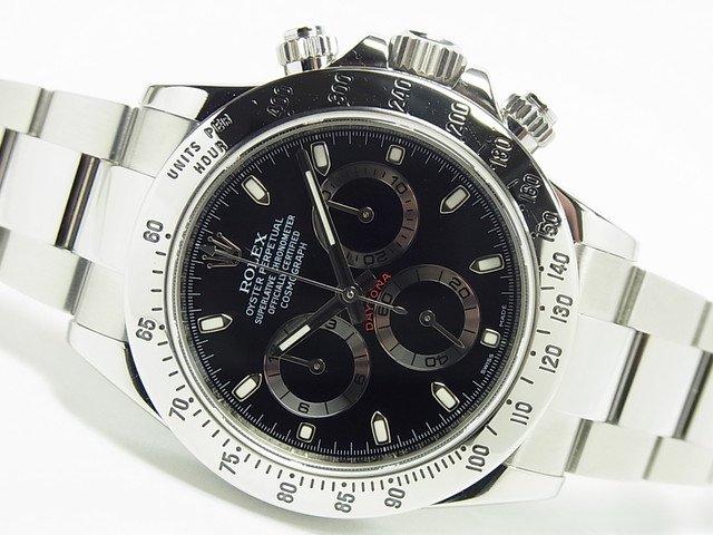 ロレックス デイトナ SS 黒 Ref.116520 ランダム '14年購入