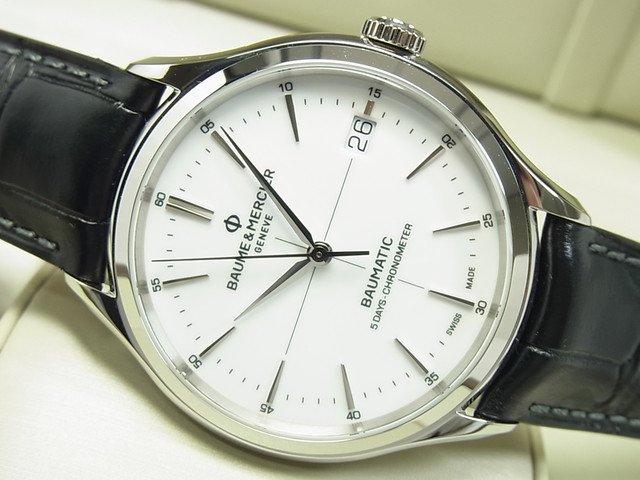 ボーム&メルシェ クリフトン ボーマティック ホワイト 10436 正規品