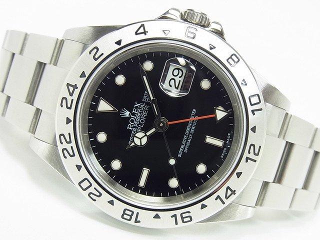 ロレックス エクスプローラーII ブラック Ref.16570 Z番
