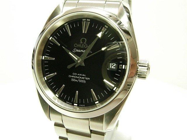 release date: 5c690 a7d45 シーマスターアクアテラ36MM・黒 オートマチック - 腕時計専門店THE-TICKEN(ティッケン) オンラインショップ