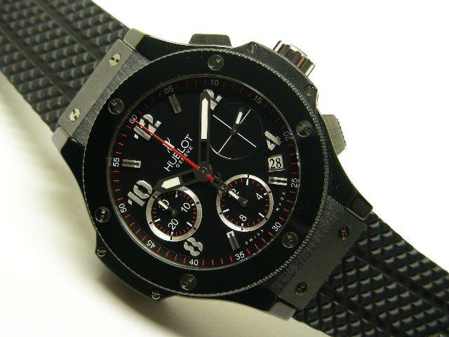 pretty nice 04b5f da2f0 ウブロ ビッグバン・ブラックマジック 国内正規品 - 腕時計専門 ...