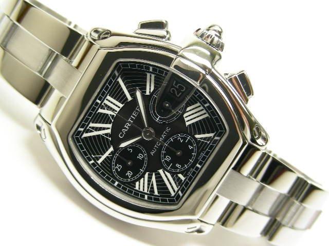 pretty nice 459b2 c1f47 カルティエ ロードスター・クロノグラフ ブラック 後期型 - 腕時計専門店THE-TICKEN(ティッケン) オンラインショップ