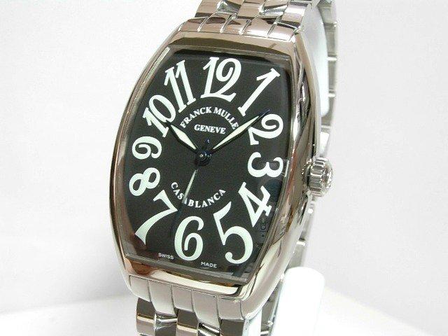 フランクミュラー カサブランカ6850 ブレス 黒 正規品