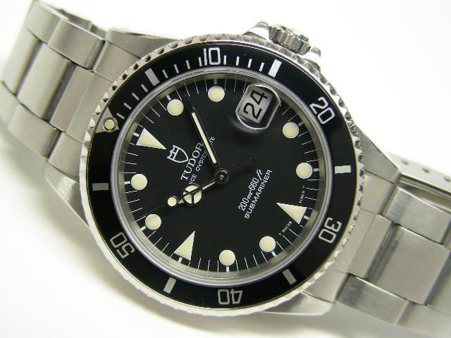 チュードル サブマリーナ・デイト ボーイズ 黒 Ref.75090