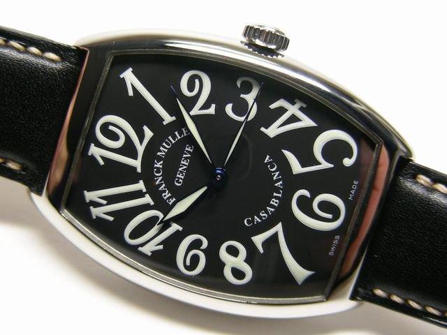 フランク・ミュラー カサブランカ 6850 黒文字盤 正規