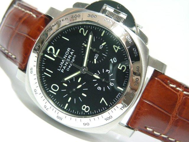 new style fbde6 f5d74 パネライ ルミノール・クロノ デイライト PAM00196 - 腕時計専門 ...