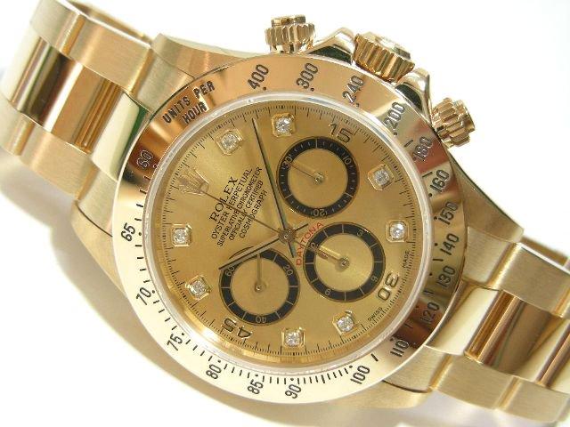 online store be90c a873c ロレックス デイトナ・エルプリメロ YG シャンパン8P - 腕時計 ...